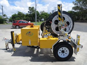 1.5 Tonne - cable reel trailer for sale