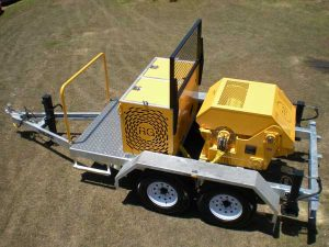 40kN (4-Tonne) Trailer-Mounted Recovery Winch